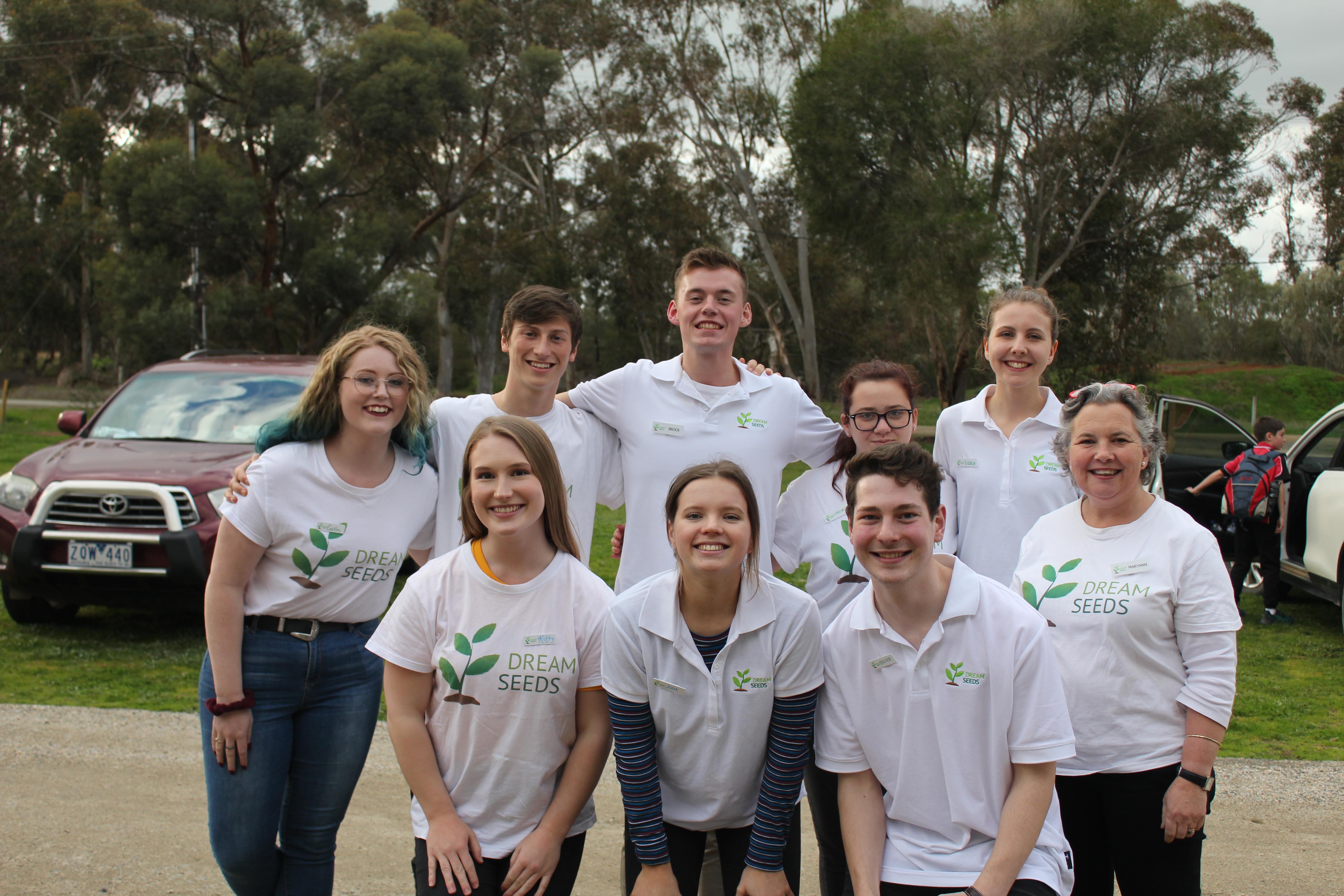 DreamSeeds team photo.
